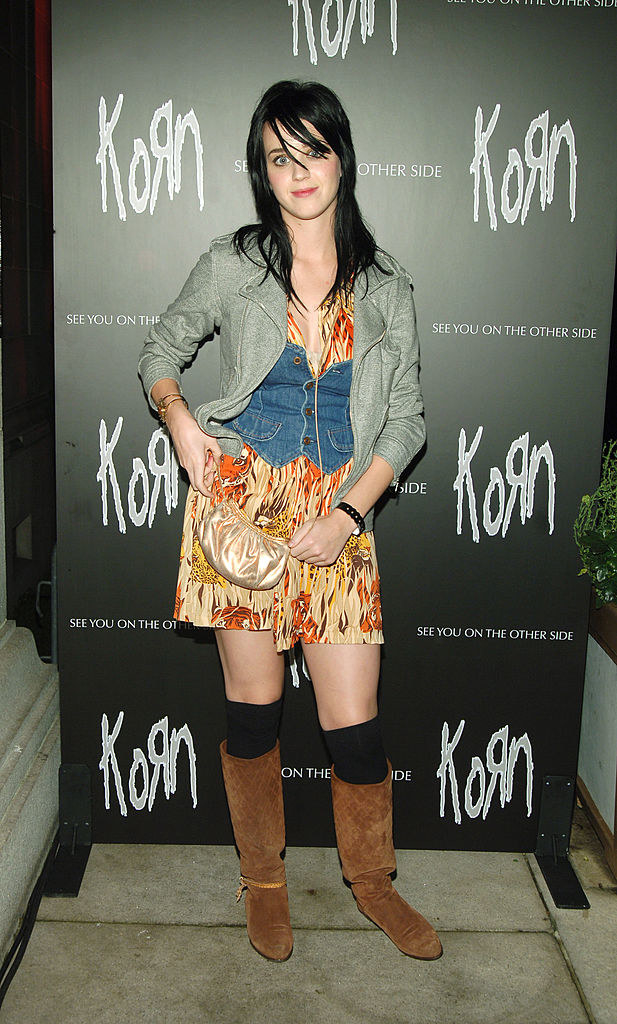 Katy Perry at Korn's premiere for See You On the Other Side