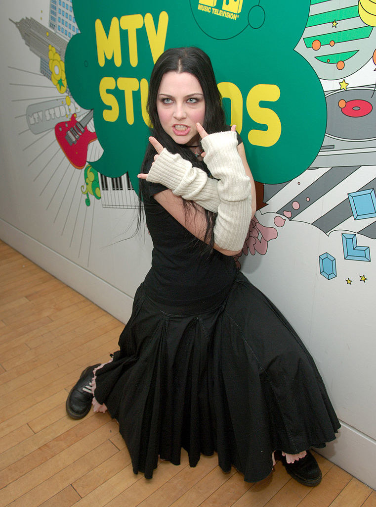 Evanescence's Amy Lee at TRL
