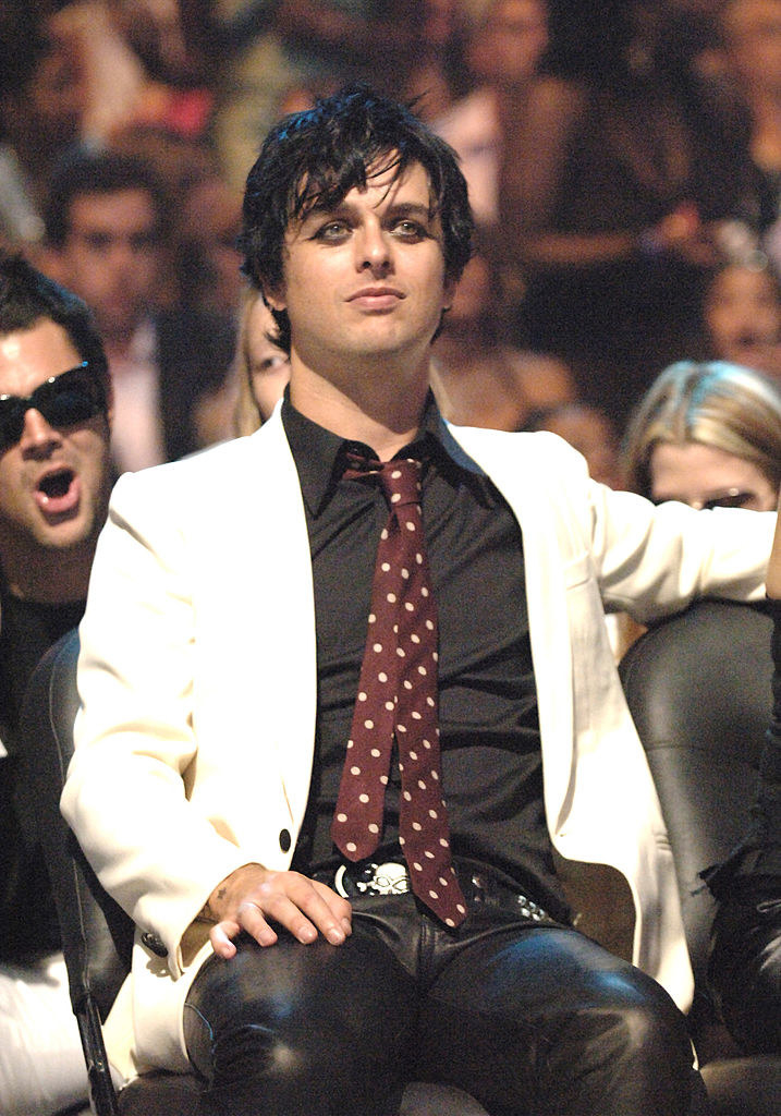 Green Day's Billie Joe Armstrong and Johnny Knoxville