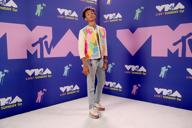 Jaden Smith at the 2020 MTV VMAs.