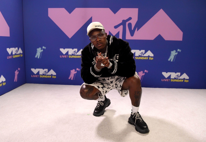 DaBaby at the 2020 MTV VMAs.