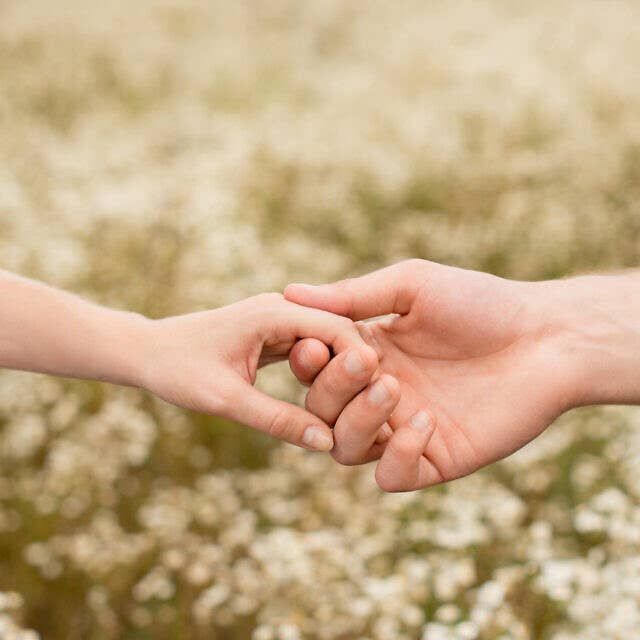 Illustrative image of lovers holding hands (LightFieldStudios; iStock by Getty Images)