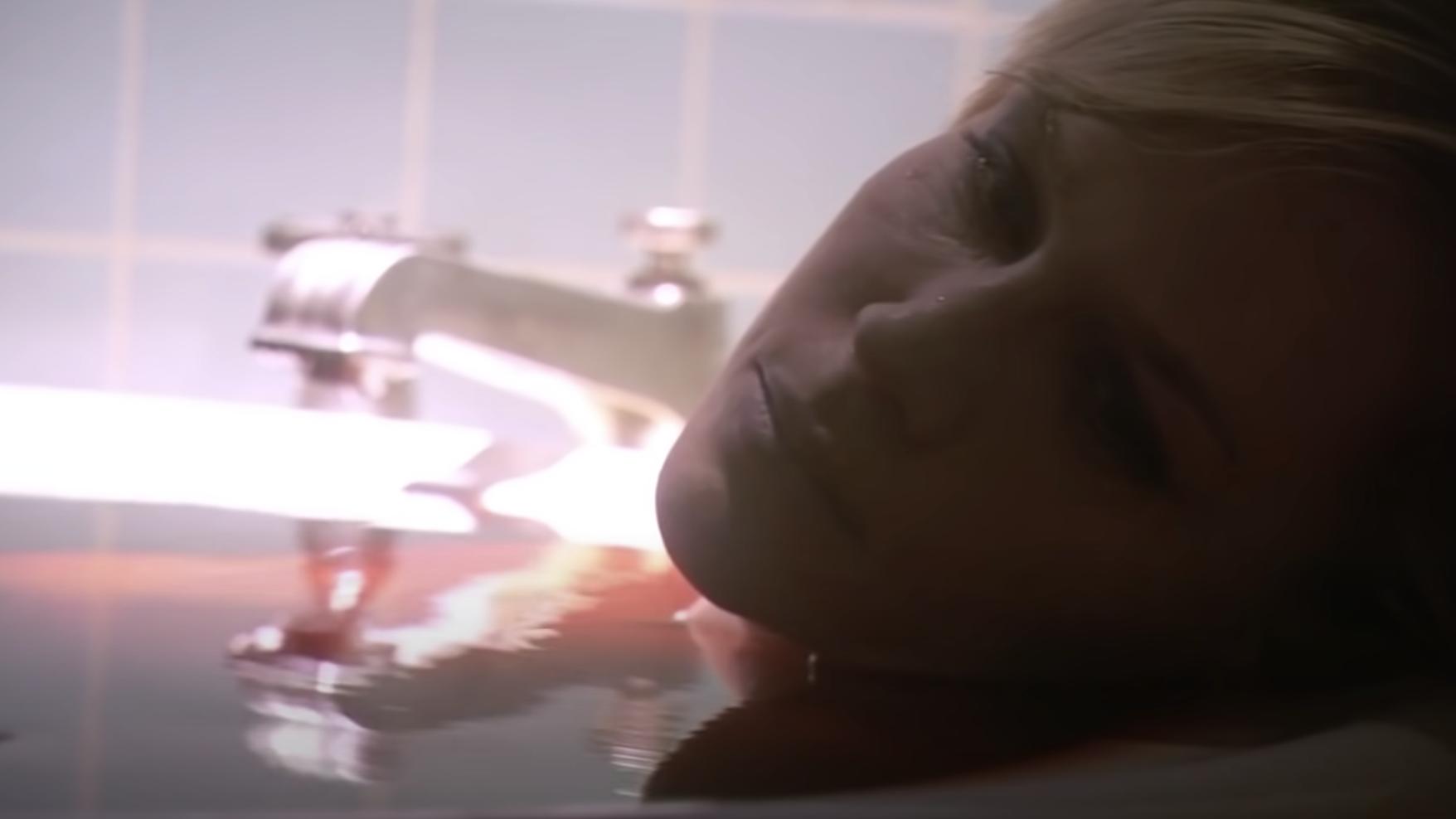 Rita dead in the bathtub