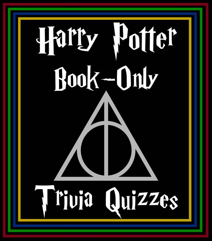Harry Potter Book-Only Trivia Quizzes header