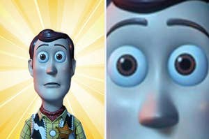 Woody in total shock at the length of this quiz