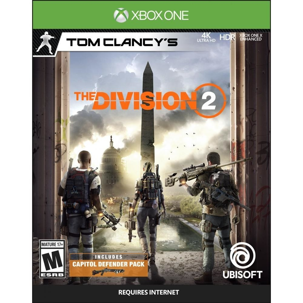 The cover of the video game, featuring three soldiers and the Washington Monument