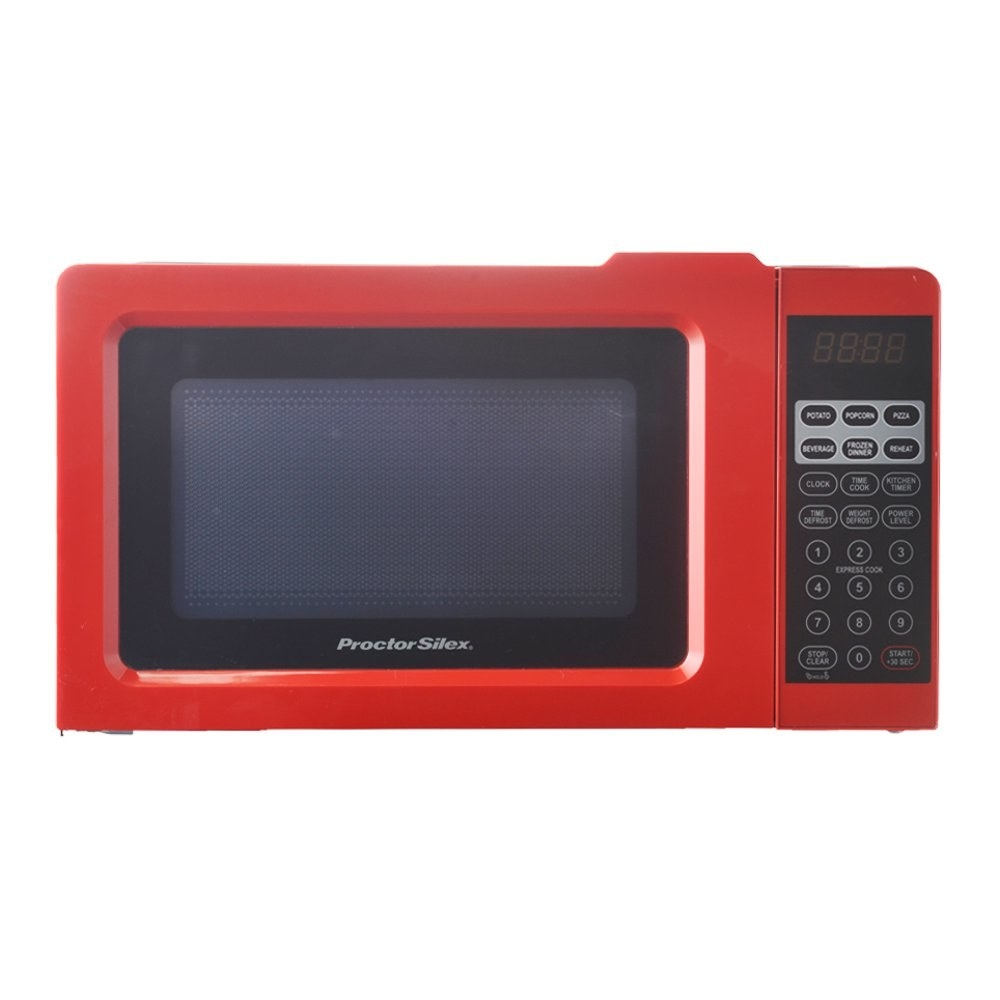 The red microwave
