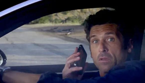 Derek right before his car crash