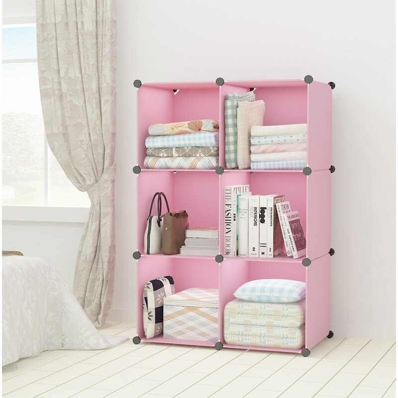 The pink storage unit