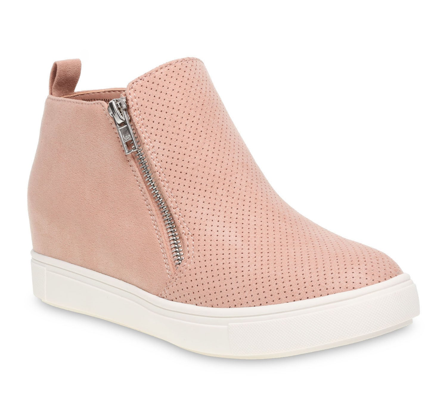 The pink sneaker wedges