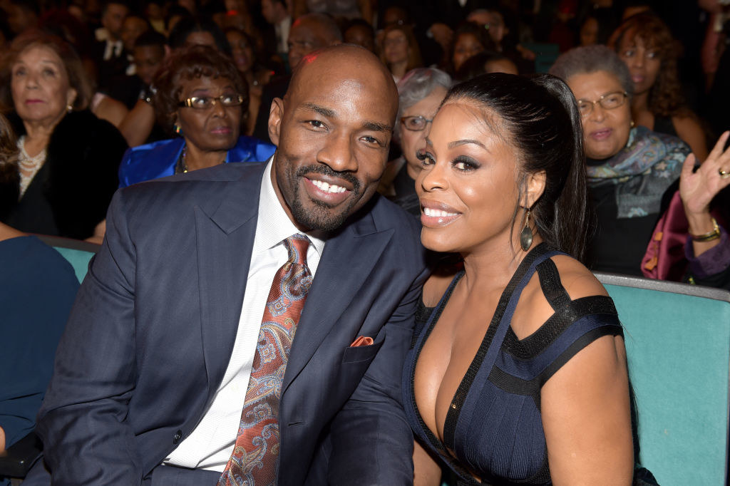 Niecy Nash poses with ex-husband Jay Tucker at a Hollywood event