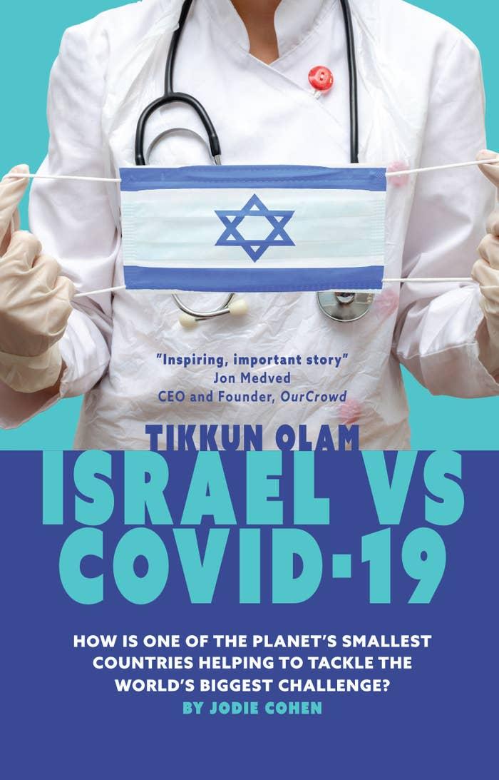 Book cover of 'Tikkun Olam: Israel vs COVID-19' by Jodie Cohen