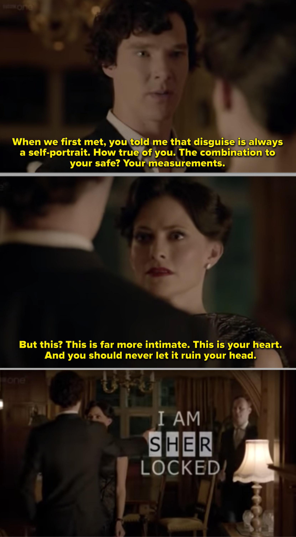 Sherlock figuring out Irene Adler's phone password