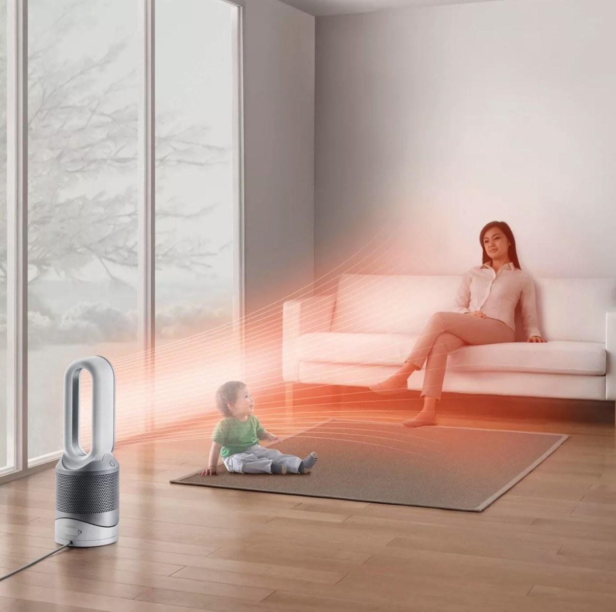 The air purifier