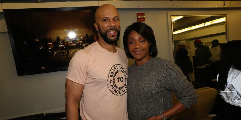 """Image of article 'Tiffany Haddish And Common Are Dating, And It's The """"Best Relationship"""" She's Ever Been In'"""