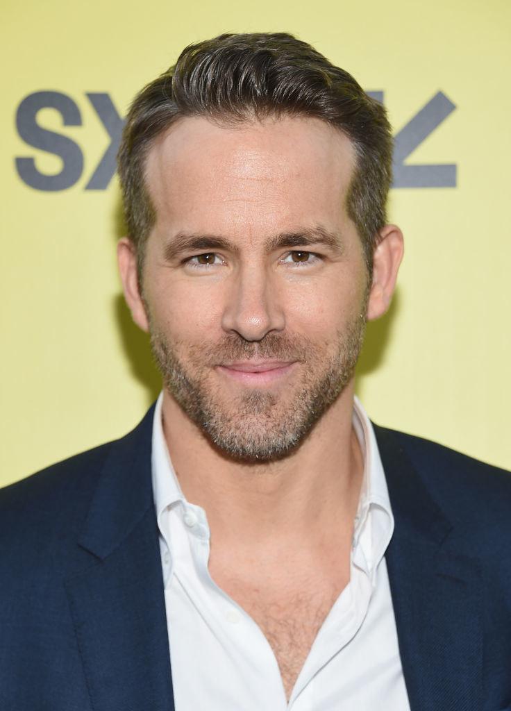 Ryan Reynolds on a red carpet