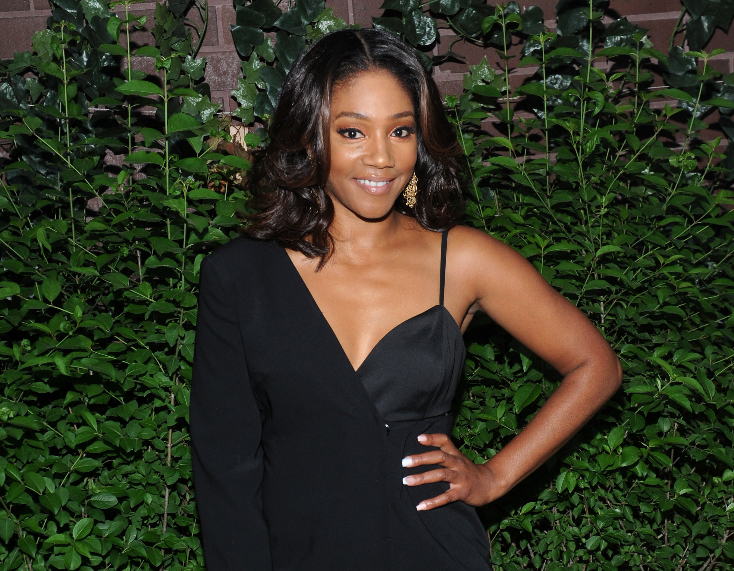 Tiffany Haddish photographed at an event