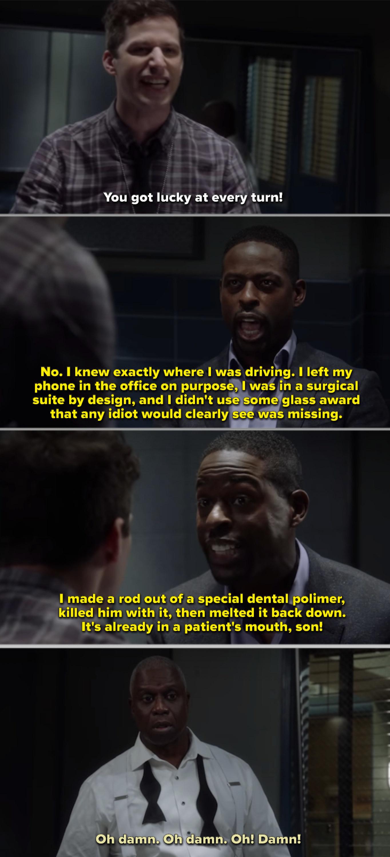 Philip admitting to the murder