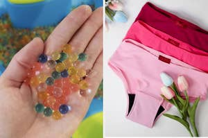jelly beans and underwear