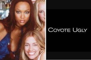 Tyra Banks and Piper Perabo and the title