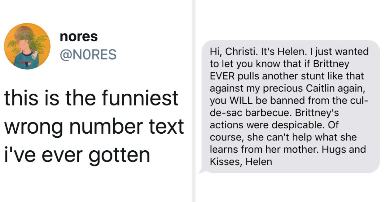 19 Texts From Wrong Numbers That Went From 0 To 100 Real Quick