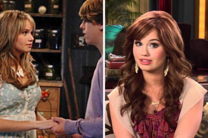 "Debby Ryan as Bailey on ""The Suite Life on Deck"" and Jessie on ""Jessie"""