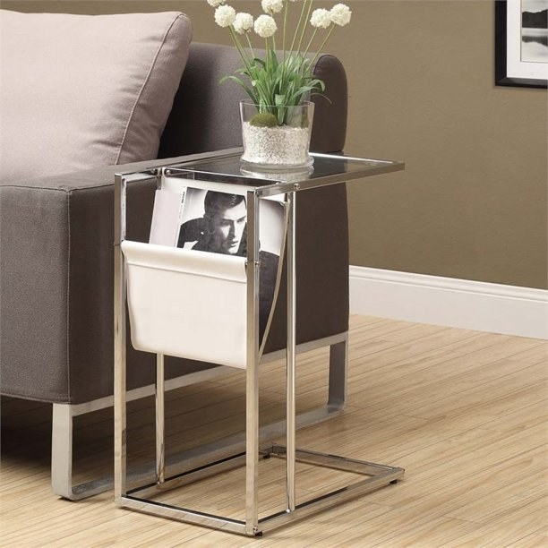 the table that is also a magazine holder