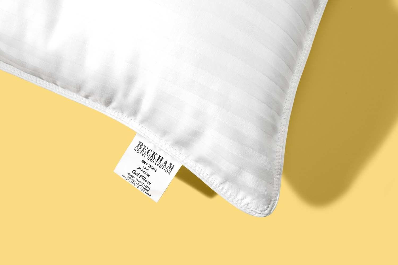 corner of pillow