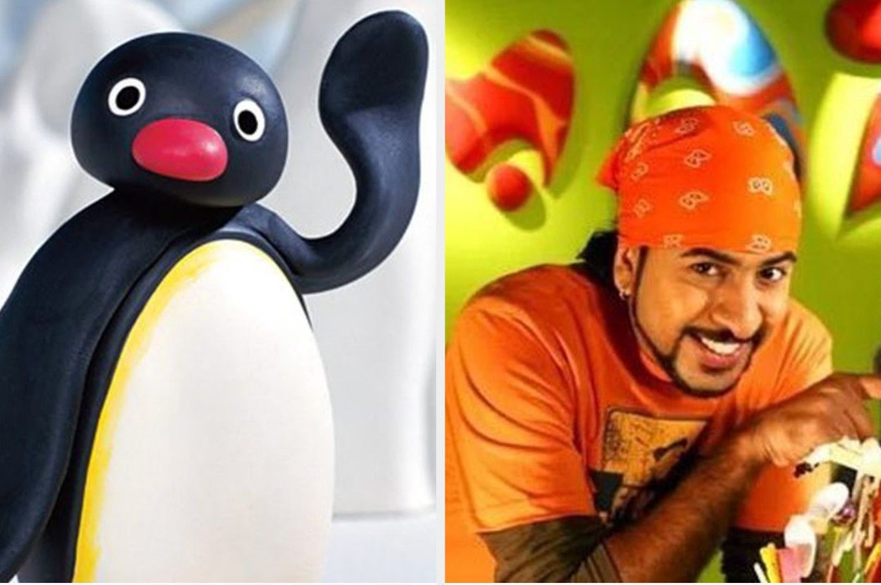 Image of Pingu and Rob from M.A.D on Pogo.