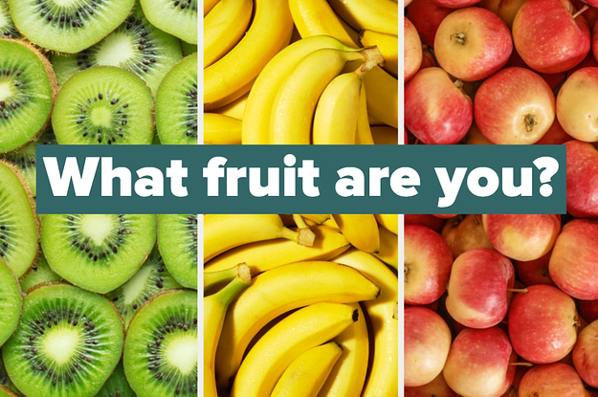 What Fruit Are You Based On Your Style Choices