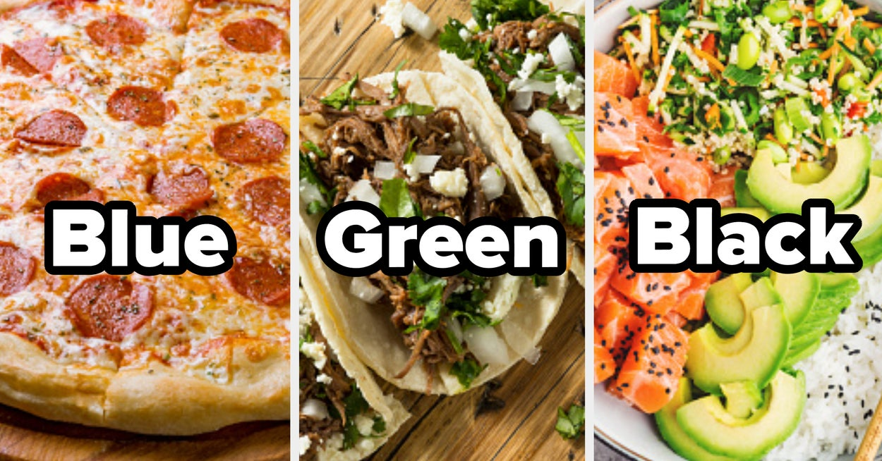 Can We Guess Your Favorite Color Based On The Food You Choose?