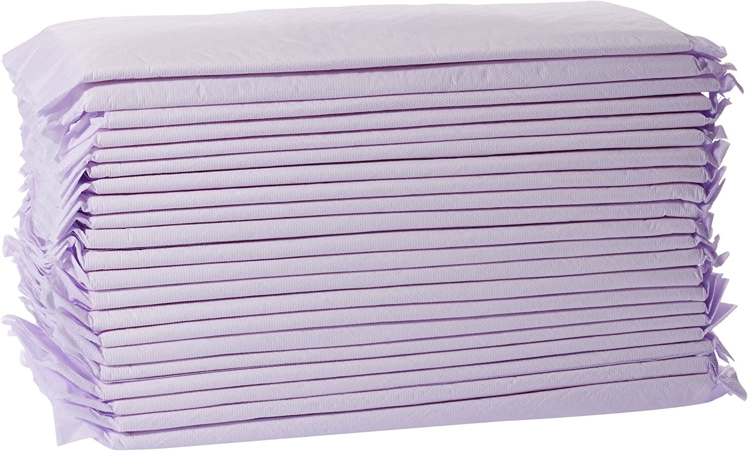 a purple stack of pads