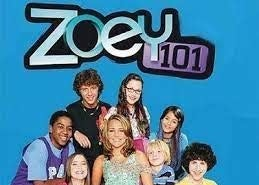 Zoey 101 cast pose in a promotional poster