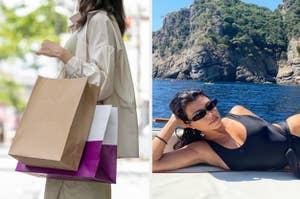 Shopping and Kourtney Kardashian.