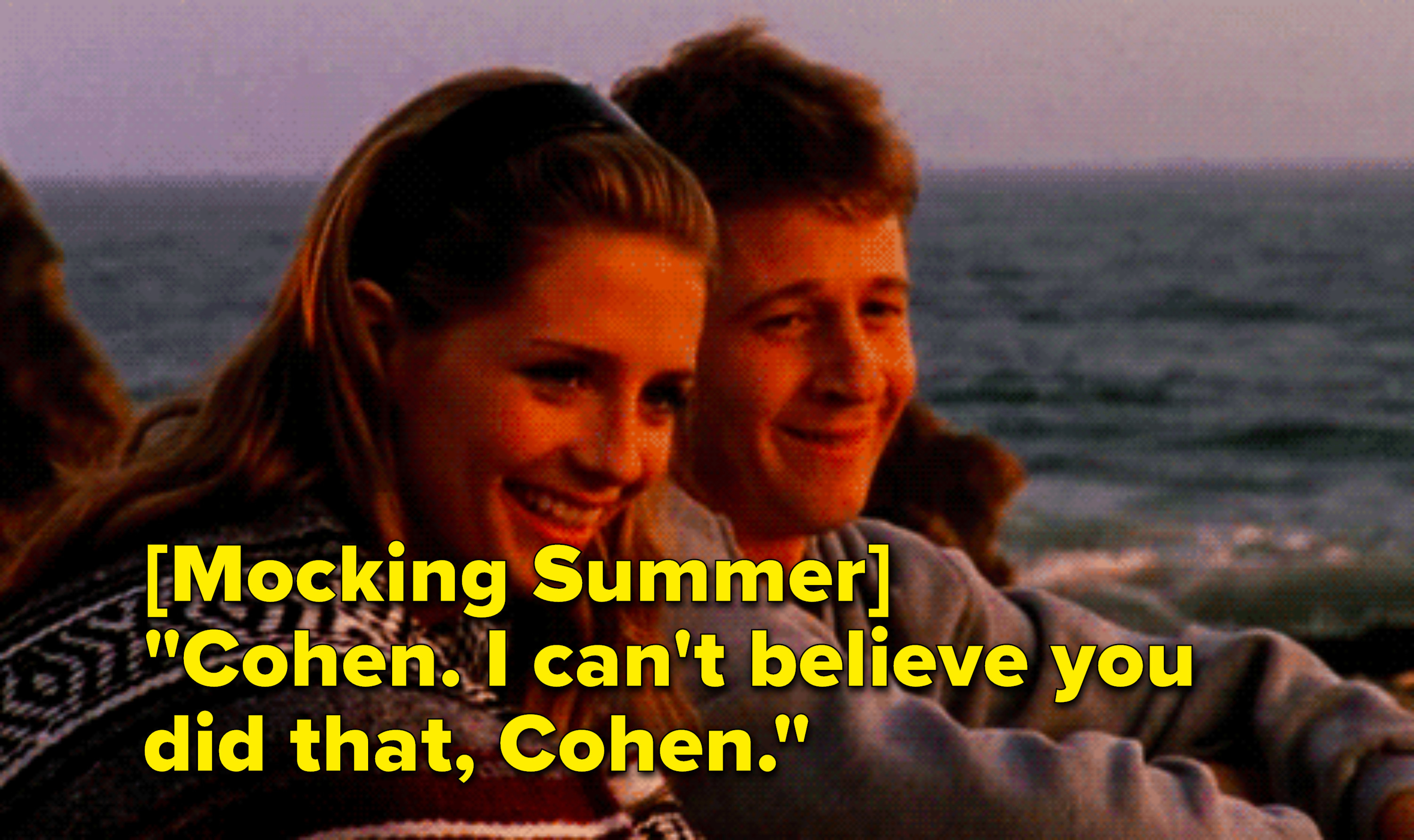 """Ryan mocking Summer: """"Cohen, I can't believe you did that, Cohen"""""""