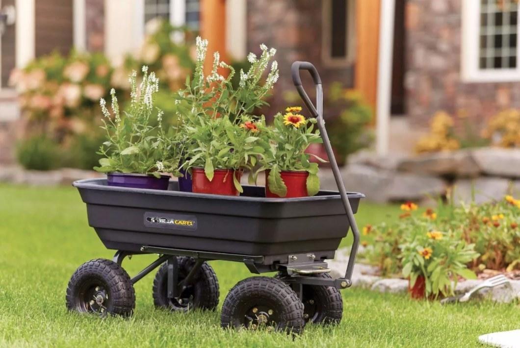 The yard cart