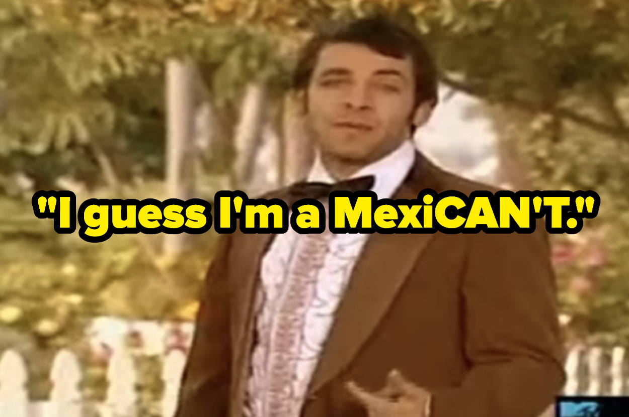"""Eric saying """"I guess I'm a MexiCAN'T."""""""