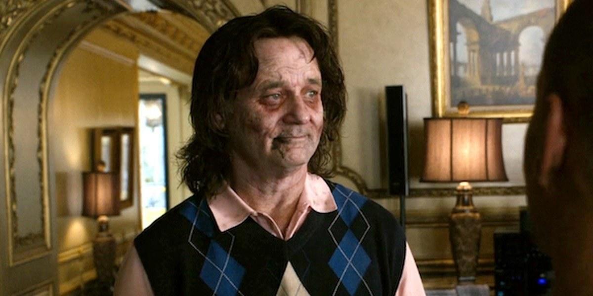 Bill Murray as a Zombie in Zombieland