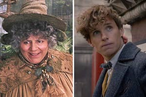 Pomona Sprout and Newt Scamander