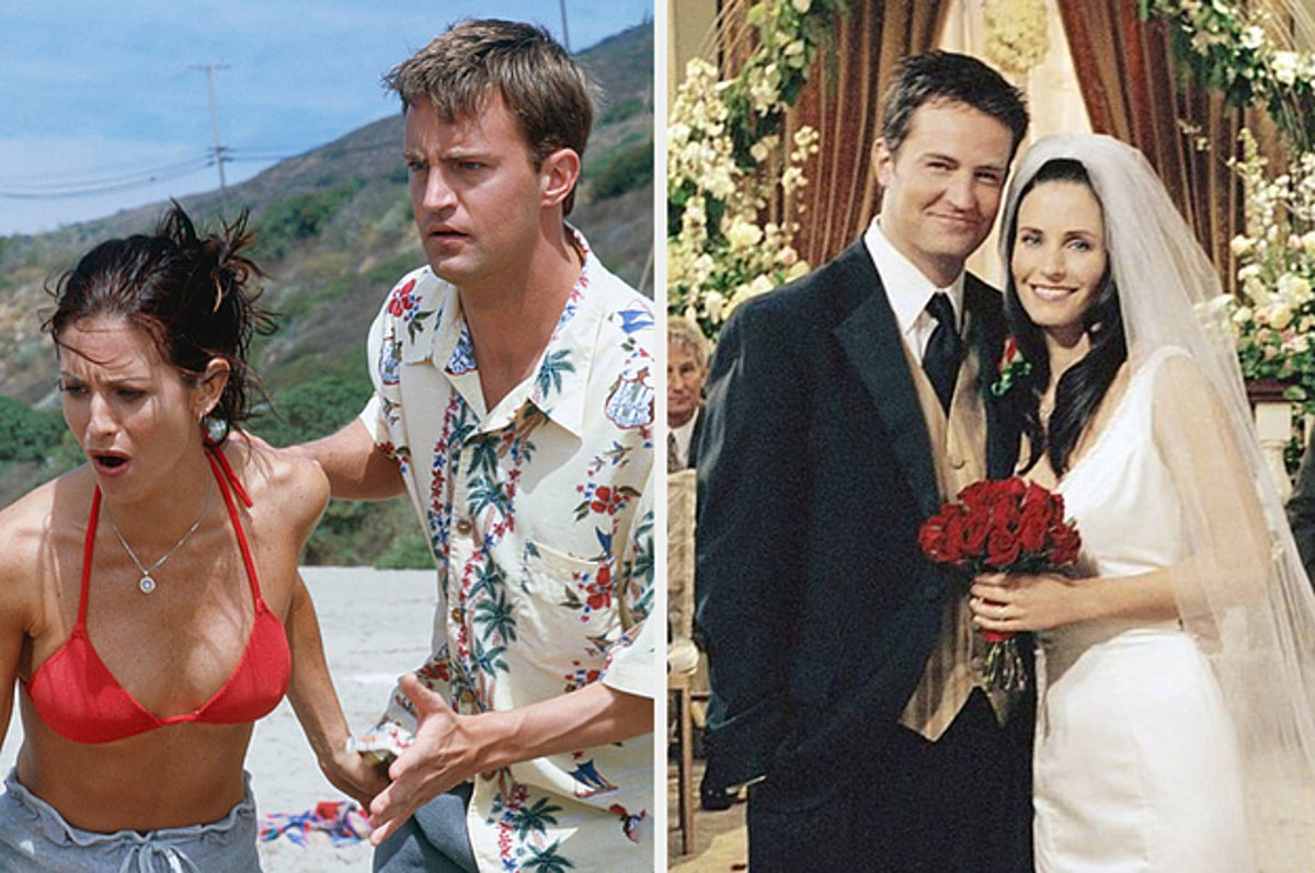 Did chandler their where honeymoon monica go and for The Truth