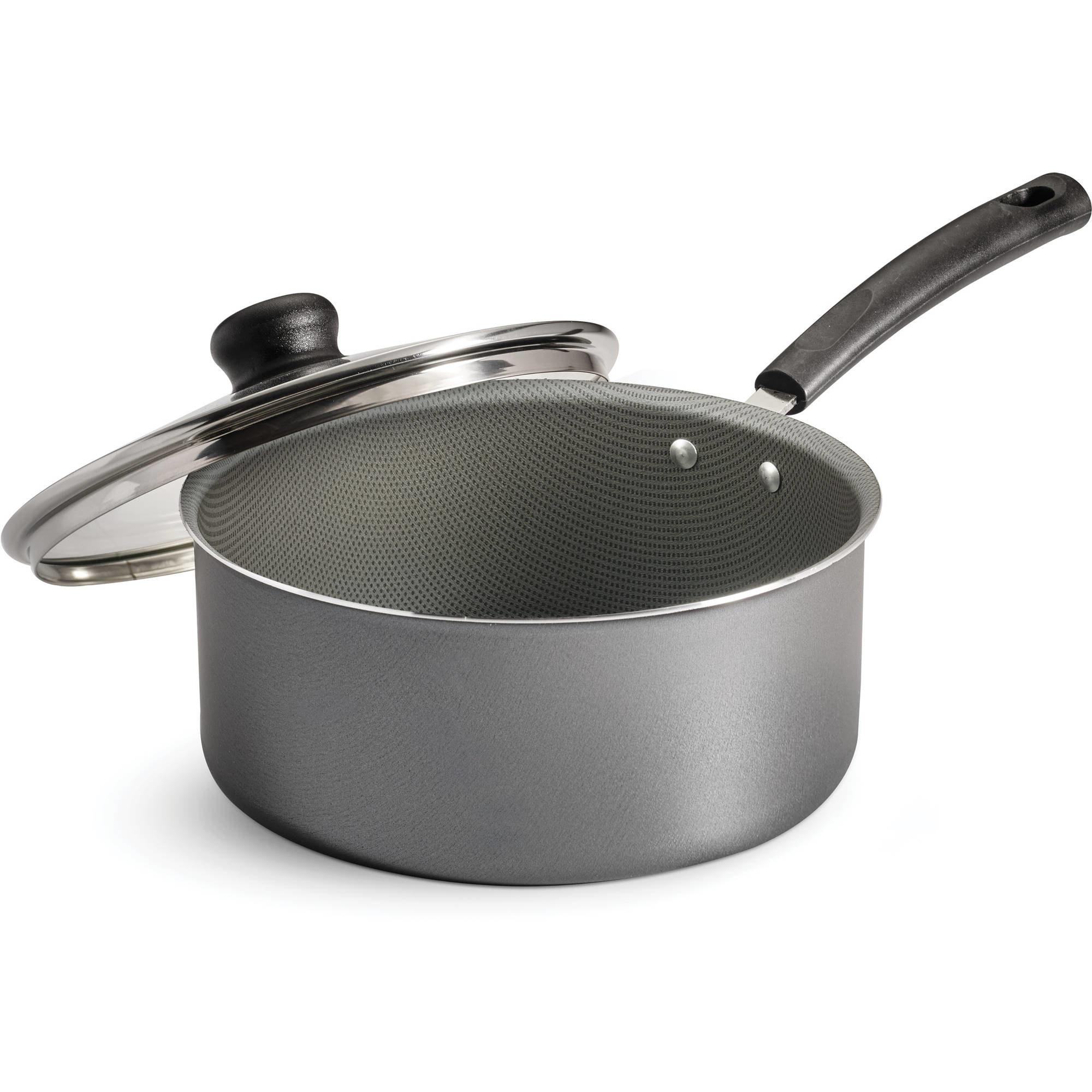 Saucepan on a white background