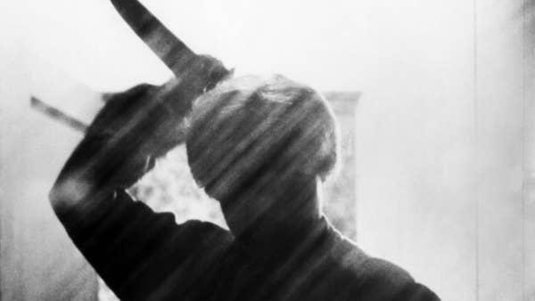 """The stabbing shower scene in """"Psycho"""""""