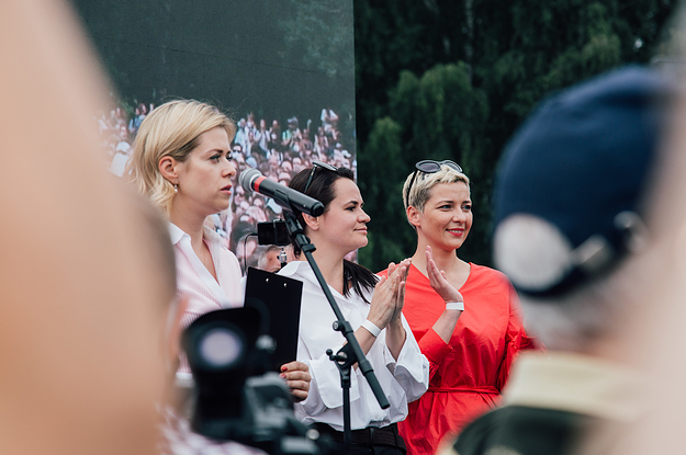 Belarus's Authoritarian President Mocked The Role Of Women In Politics. Now Three Of Them Are Rallying The Nation Against Him.