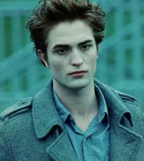 Robert Pattinson as Edward Cullen from Twilight