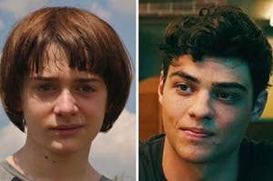 """Will from """"Stranger Things"""" is on the left with Peter from """"To All the Boys"""" on the right"""