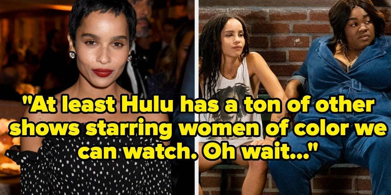 "Image of article 'Zoë Kravitz Just Called Out Hulu For Its Lack Of Diversity After ""High Fidelity"" Was Canceled'"