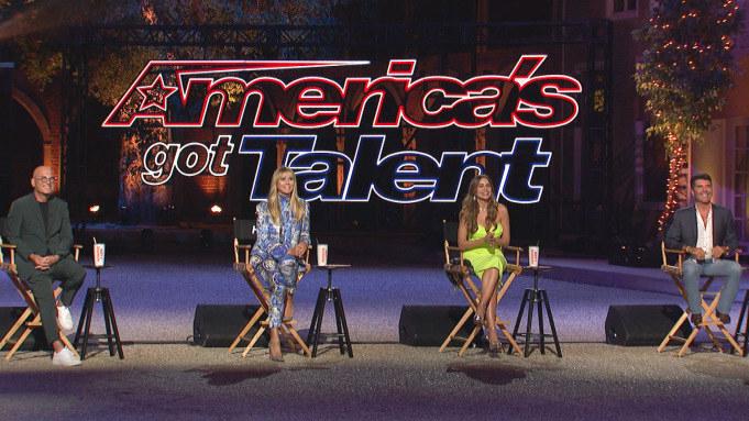 """""""America's Got Talent"""" judges observing the coronavirus precautions"""