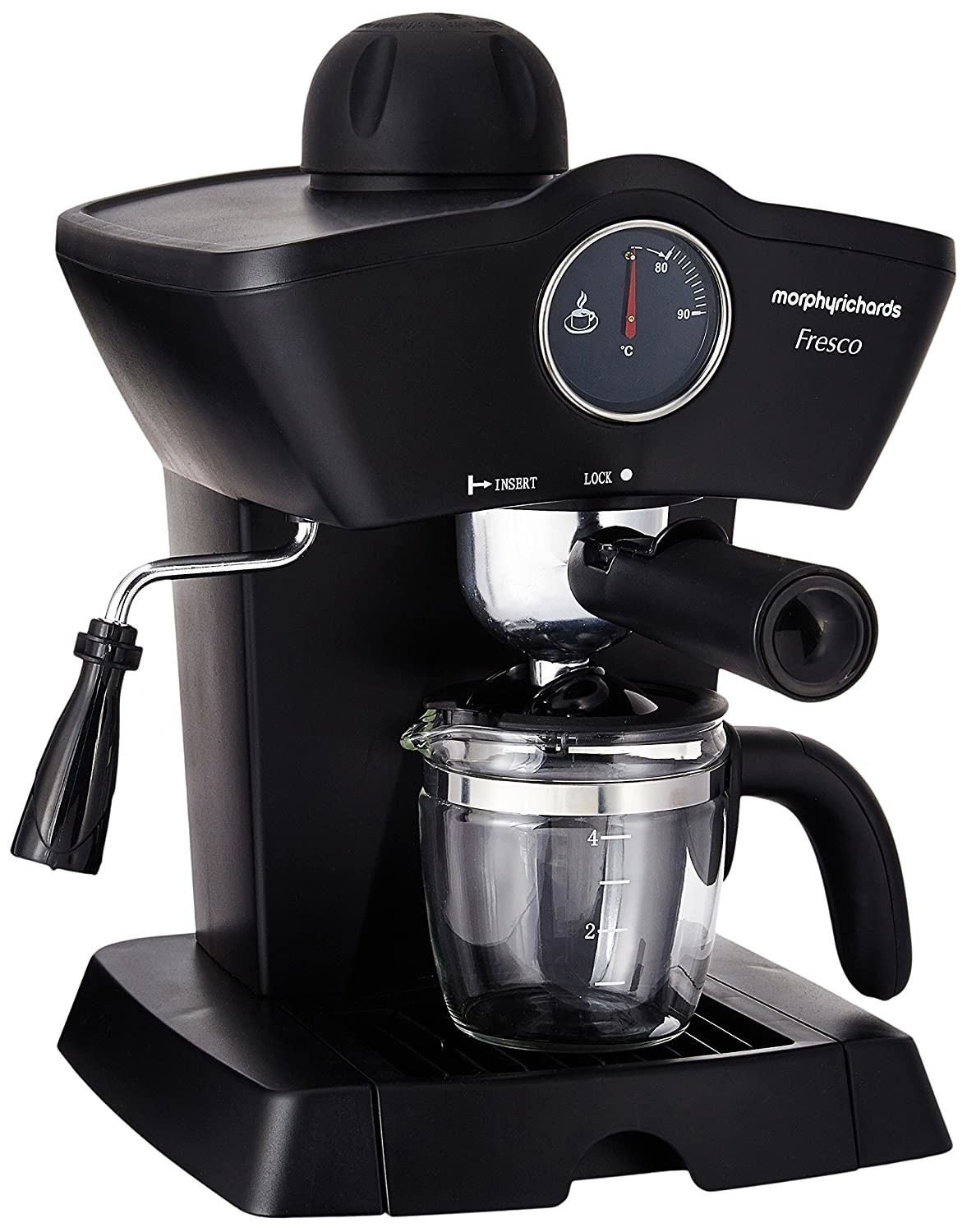 A Morphy Richards coffee maker
