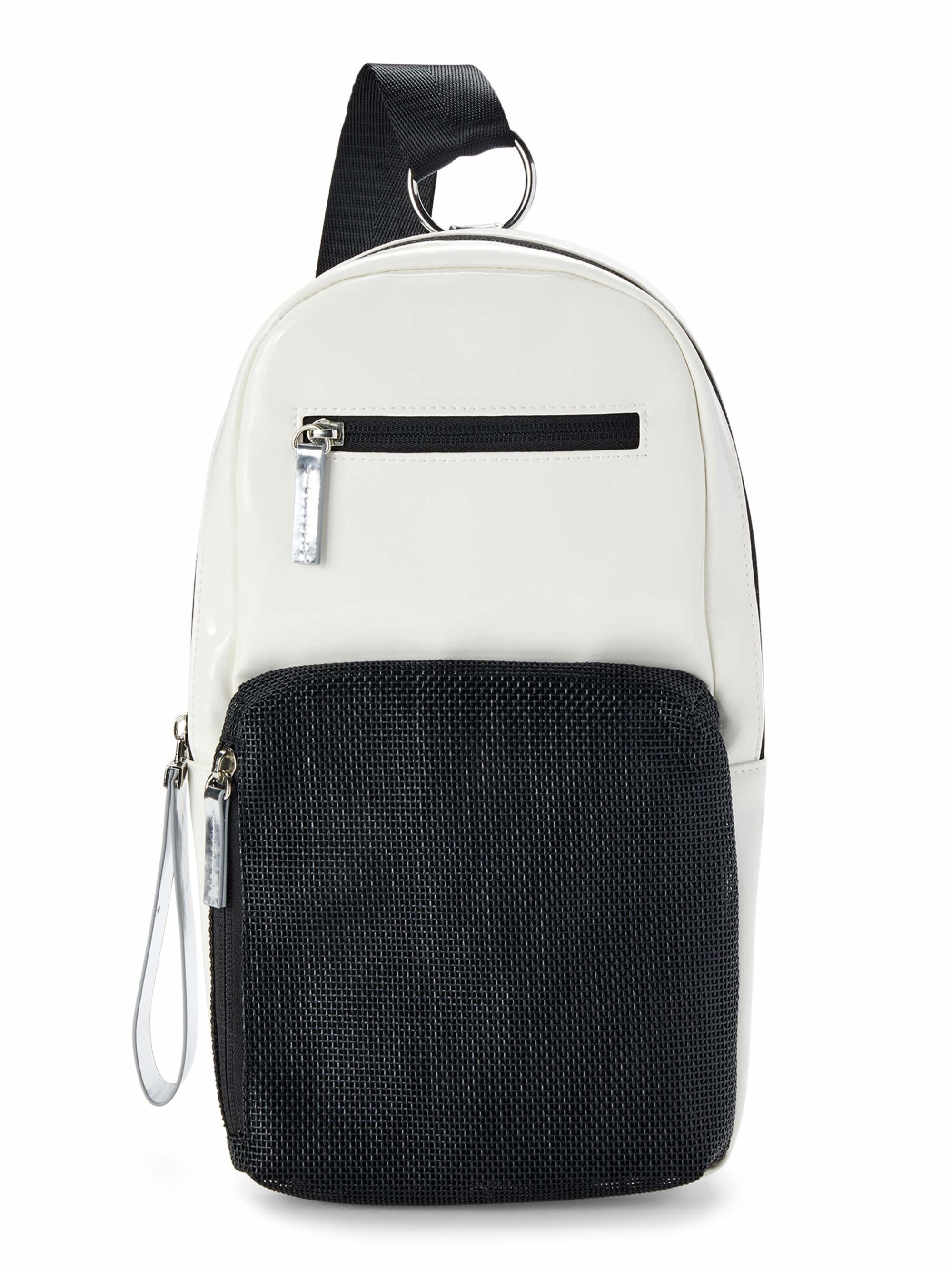 The white/black bag