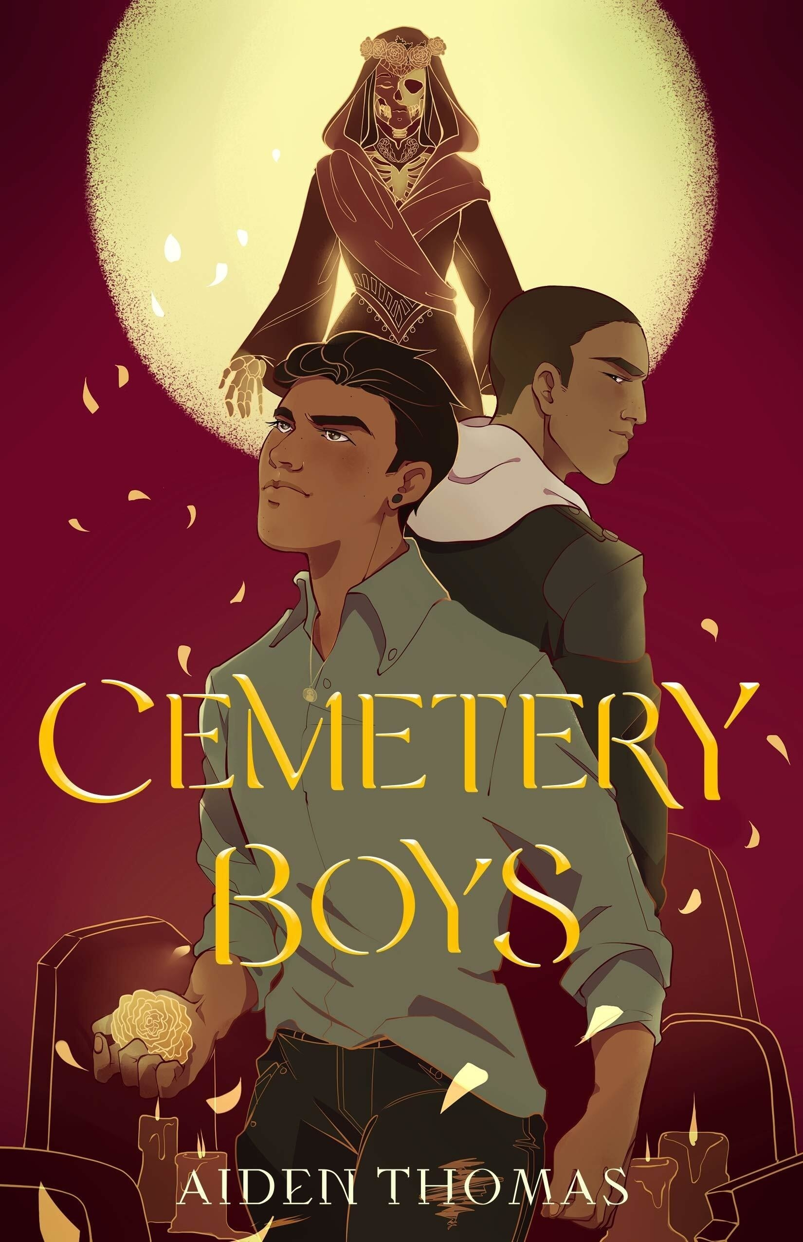 """Cemetery Boys"" book cover"